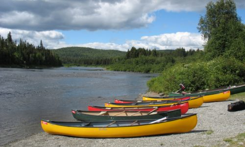 Allagash canoes
