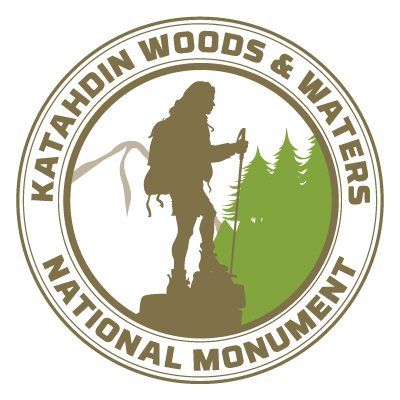 Katahdin Woods and Waters official logo