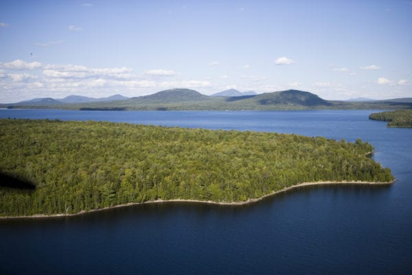 Moosehead Lake, Maine.