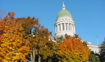 State House in fall