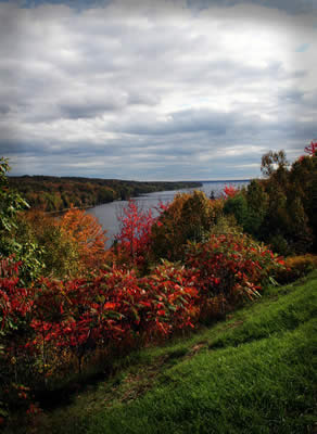 Fall on the Penobscot River. Photo by Shannon Parks of Topsham, Maine.