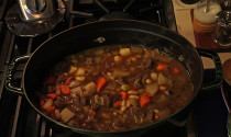 stew on stove by Terry Sprague