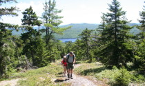 hiking, Little Bigelow