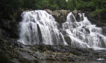 Houston Brook Falls in Pleasant Ridge Plantation Sam Horine
