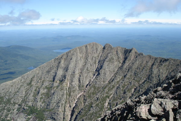 Knife's Edge Mount Katahdin by Justin Walton