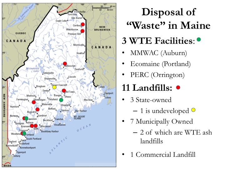 waste disposal in Maine
