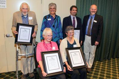 2015 NRCM Conservation Leadership Award recipients