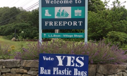 Freeport Says No to Plastic Bags, Yes to a More Sustainable Maine!