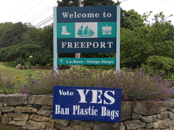 Freeport Says No to Plastic Bags, Yes to a More Sustainable Maine