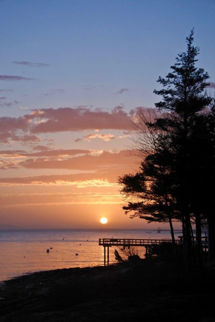 Tenants Harbor sunrise