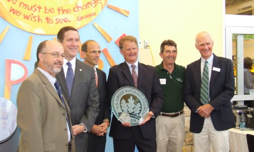 Hannaford LEED certification 2009
