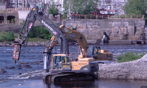 Great Works Dam removal