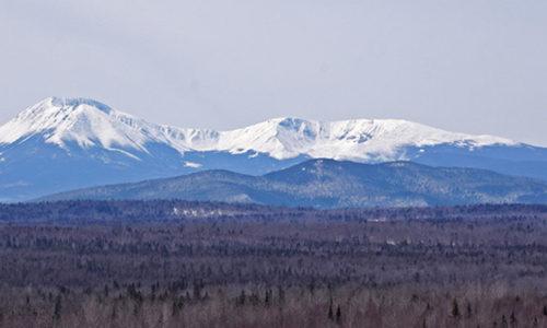 Mount Katahdin by Pam Wells
