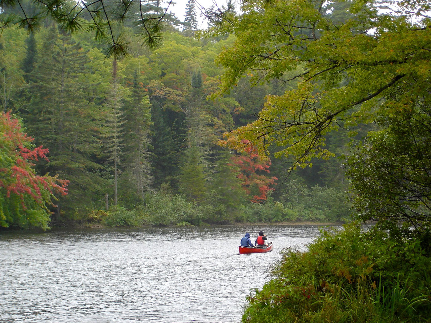 paddling the Penobscot River