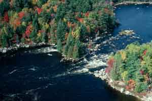 "The West Branch of the Penobscot River was protected from the Big ""A"" dam."
