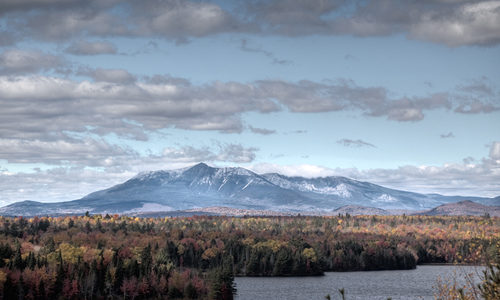 Katahdin from Salmon Stream Lake