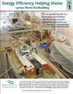 Lyman Morse Boatbuilding, Thomaston, and Maine Coast Construction, Camden