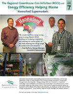 Hannaford Supermarket, Westbrook, features RGGI