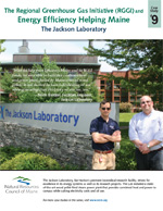 Jackson Laboratory, Bar Harbor, features RGGI