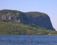 Mount Kineo in Moosehead Lake Photo by Allison Childs Wells