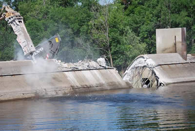 Fort Halifax Dam Removed to Open Fish Passage in Sebasticook