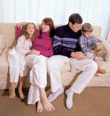 Brominated flame retardants can be found in some home furnishings and upholstery.