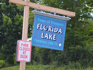Florida Lake sign