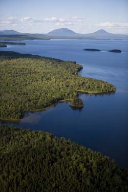 Moosehead Lake in Maine's North Woods.