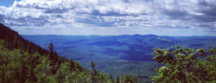 Photo: View from Tumbledown Mountain, by Ashley Jensen