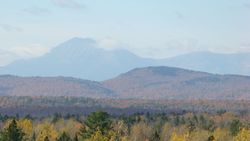 One of the best views of Katahdin that we have ever had!