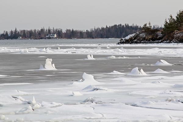 Ice caps North Haven
