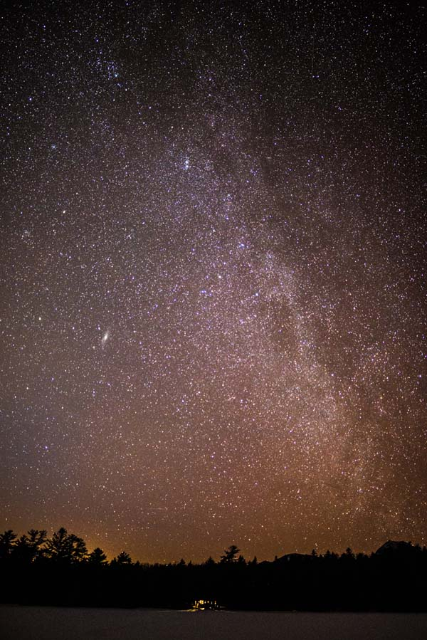 Milky Way from Daicey Pond
