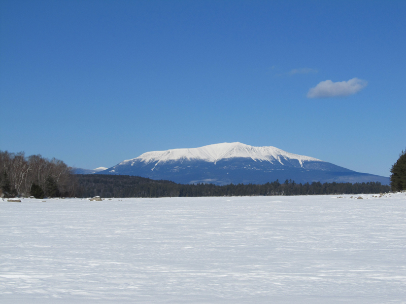 Katahdin from Pemadumcook Lake