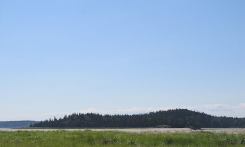 Morse Mountain from Popham Beach