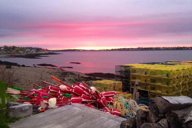 South Harpswell lobstering