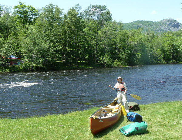 Matagamon wilderness camps put in