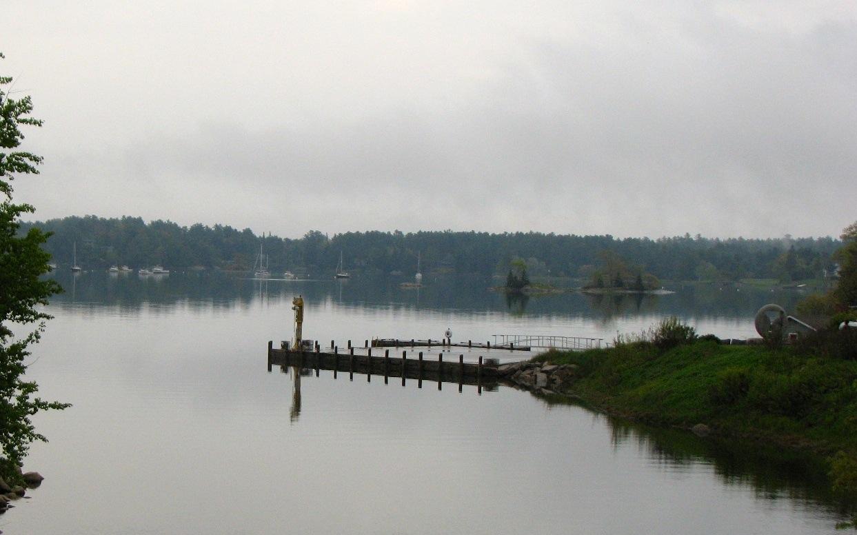 Mill Stream Bridge Blue Hill Harbor