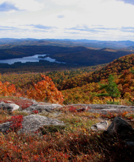 Long Lake from Pleasant Mtn RVP