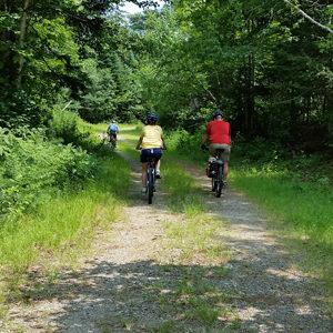 mountain biking at KWW