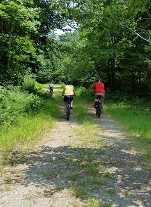 bike trip on EPI lands