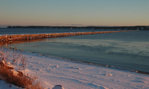 Rockland breakwater