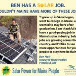 Ben Holt solar profile