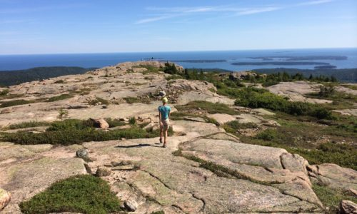 Penobscot Mountain—Sargent Mountain hike, with swim at Sargent Pond