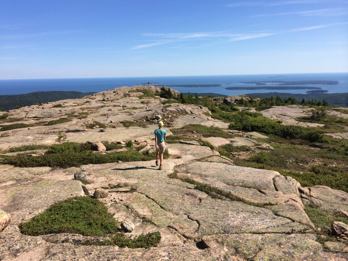 penobscot mountain u2014sargent mountain hike  with swim at