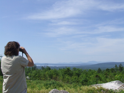 Bird watching on the proposed National Park Lands.