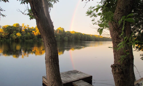 Kennebec River in Skowhegan summer 2015