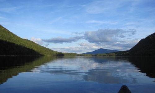 Wassataquoik Lake by Lauren Mier
