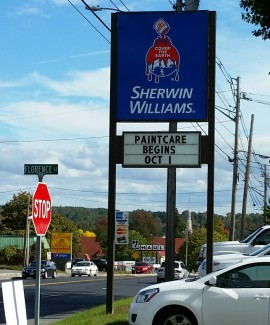Sherwin-Williams store on Western Avenue in Augusta