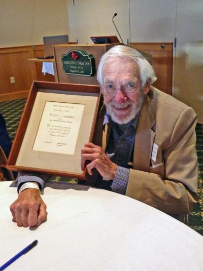 Bob Cummings at NRCM's 2015 Conservation Leadership Awards