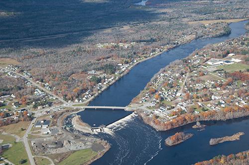 Howland Bypass aerial photo by JRoyte, TNC/Lighthawk